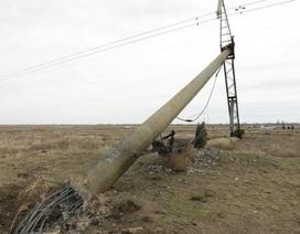 Ukraine ngừng vận chuyển hàng hóa tới Crimea sau vụ mất điện toàn bán đảo