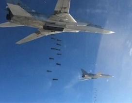 Nga công bố hàng loạt video máy bay bắn phá các mục tiêu khủng bố