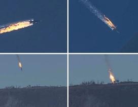 Thổ Nhĩ Kỳ bắn rơi máy bay Su-24 của Nga, phi công thiệt mạng