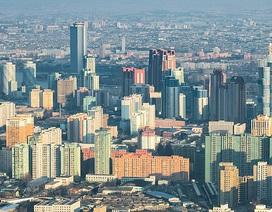Thủ đô Bình Nhưỡng khang trang nhìn từ máy bay