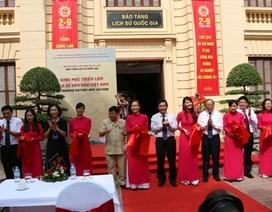 """Khai mạc triển lãm """"Lịch sử - văn hóa Việt Nam"""""""