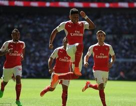 Hạ gục Chelsea, Arsenal giành Siêu cúp Anh
