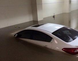 Xe để trong hầm chung cư bị ngập xử lý thế nào?