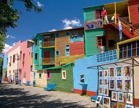 Chiêm ngưỡng những khu phố sặc sỡ nhất hành tinh