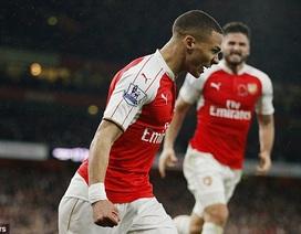 Gibbs cứu Arsenal thoát thua Tottenham