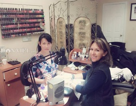 Mưu sinh nghề nail của người Việt trên đất Mỹ