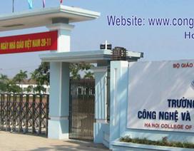 Trường CĐ Công nghệ & Thương mại Hà Nội mở thêm ngành Dịch vụ pháp lý