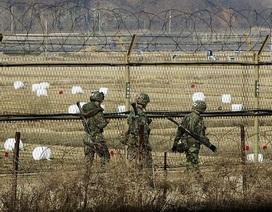 Hàn Quốc sơ tán dân sau vụ đấu pháo với Triều Tiên tại biên giới
