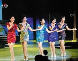 Ban nhạc nữ của ông Kim Jong-un biến mất bí ẩn