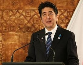 Thủ tướng Shinzo Abe tái đắc cử chủ tịch đảng cầm quyền
