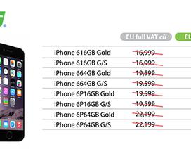 iPhone 6 và iPhone 6 Plus chính hãng FPT giảm giá hơn 1 triệu đồng