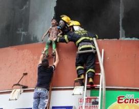 Cháy nhà mẫu giáo tại Trung Quốc, 109 trẻ nhập viện