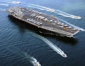 Khám phá sức mạnh siêu tàu sân bay Mỹ đóng tại Nhật Bản