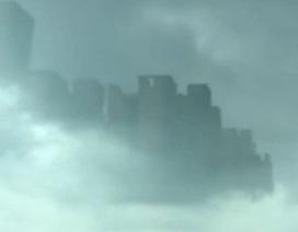 Thành phố bí ẩn lơ lửng trên bầu trời gây xôn xao tại Trung Quốc