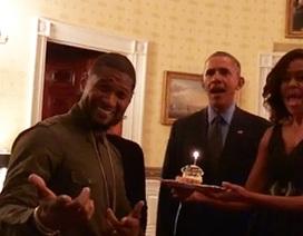 Vợ chồng Tổng thống Obama khoe giọng hát