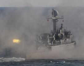 Hải quân Hàn Quốc bắn 5 phát súng cảnh cáo tàu Triều Tiên