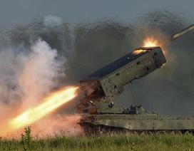 Quân đội Syria dùng pháo đa nòng hủy diệt IS