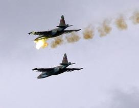 Máy bay Nga nã bom 472 mục tiêu khủng bố tại Syria