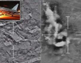 Anh công bố video không kích mỏ dầu của IS tại Syria