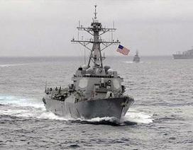 Trung Quốc tìm cách ngăn chặn Hải quân Mỹ hoạt động tự do hàng hải ở Biển Đông