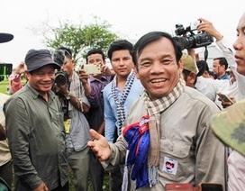 Nghị sỹ đối lập Campuchia bị tố biển thủ khi kiểm tra biên giới