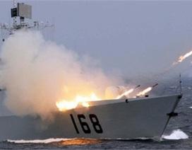 Trung Quốc sắp tập trận hải quân bắn đạn thật