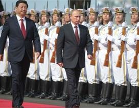 """Nước Nga của Putin lo Trung Quốc """"uy hiếp an ninh"""""""