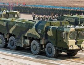 Tên lửa chiến thuật Iskander-M tham gia tập trận bắn đạn thật