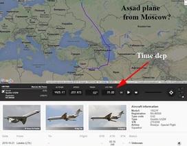 Ông Assad bay sang Nga cách nào mà không bị tình báo Mỹ lần ra?