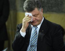 Báo Đức: Tổng thống Petro Poroshenko sắp ra đi
