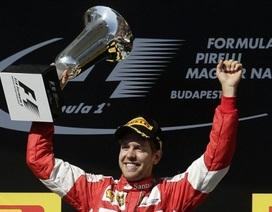 F1 2015 chặng Hungary: Chiến thắng gọi tên Vettel