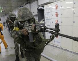 Mỹ nối lại tập trận với Hàn Quốc giữa lúc căng thẳng liên Triều leo thang