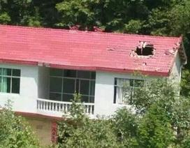 Trung Quốc: Mảnh vỡ tên lửa rơi thủng mái nhà dân