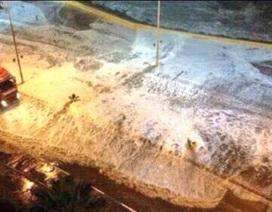 Động đất tại Chile: Những đợt sóng cao tới 4,5 mét ập vào bờ