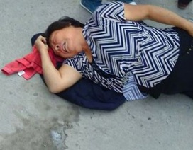 Rò rỉ hóa chất tại Trung Quốc, trẻ em ho ra máu