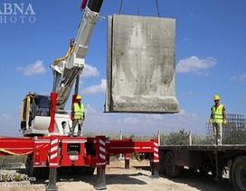 Thổ Nhĩ Kỳ dựng tường bê tông dọc biên giới Syria để làm gì?
