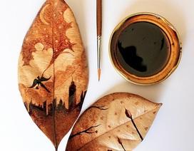 """Tài vẽ tranh tuyệt đỉnh của """"nghệ sĩ cà phê"""""""