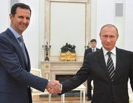 Tổng thống Syria bất ngờ tới Nga gặp ông Putin