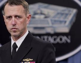 """Tư lệnh hải quân Mỹ bác tuyên bố """"Biển Đông là của Trung Quốc"""""""