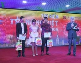 Cuộc thi tìm kiếm Tài năng Việt lần đầu tiên được tổ chức tại Nga
