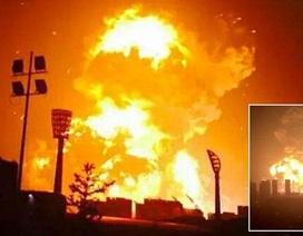 Hiện trường ngổn ngang sau các vụ nổ kinh hoàng tại Thiên Tân