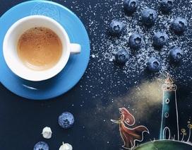 Những bức tranh biết nói bên tách cà phê sáng