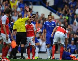 Bị hai thẻ đỏ, Arsenal ngã gục trước Chelsea