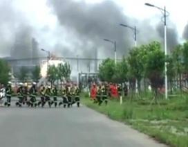 Lại nổ nhà máy hoá chất tại Trung Quốc, 9 người mất tích