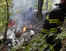 Tai nạn máy bay tại Slovakia: Tiếp tục công tác cứu hộ