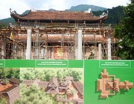 Tạm dừng thi công công trình tại khu vực nhà ga số 1, khu di tích Yên Tử
