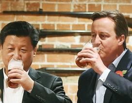 Thủ tướng Anh mời Chủ tịch Trung Quốc đến quán rượu