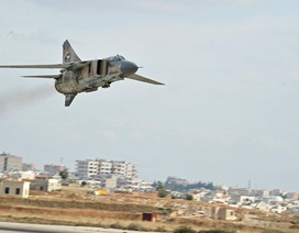 Máy bay chiến đấu Syria dội bom các thành trì của IS, tiêu diệt 33 phiến quân