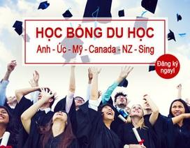 Học bổng du học Anh, Úc, Mỹ, Canada, New Zealand, Singapore