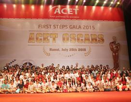 Sôi động đêm trao giải ACET OSCAR dành cho teen Hà Nội